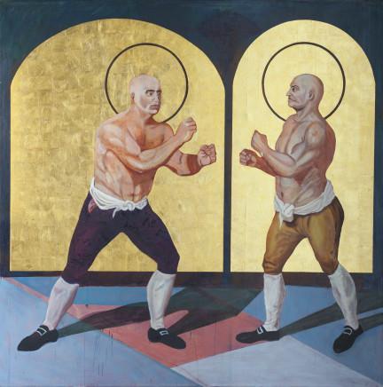 Godfried Donkor, ST. GEORG STEVENSON VS. ST. JACK BROUGHTON