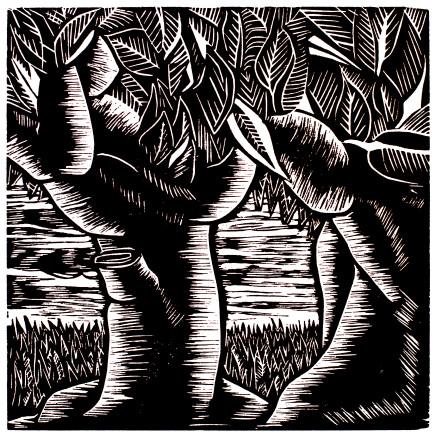 EL Loko, Landschaft 23, 1983