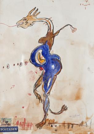 Dominique Zinkpé Untitled, 2005 € 1.400,00
