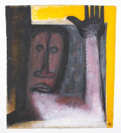 EL Loko, FIGUR MIT GEHOBENER HAND, 1986