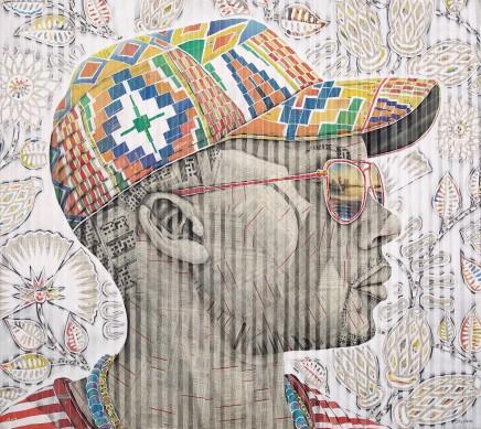 Gary Stephens, Itumeleng, The Kente Cap, 2020