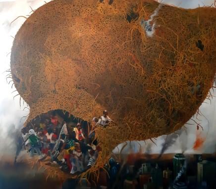 Kufa Makwavarara, Hiding Nest, 2020