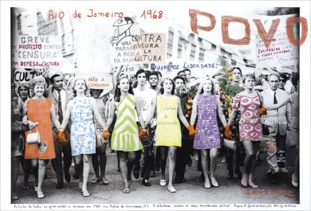 """Marcelo Brodsky, """"A RUA E NOSSA"""", RIO DE JANEIRO, BRASIL 1968, 2017"""