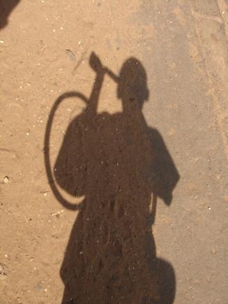 Saïdou Dicko, LE MENDIANT 1, DIPTYCH, 2007