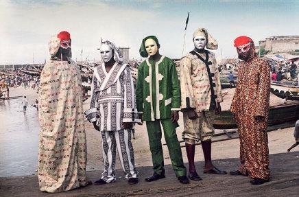 Godfried Donkor, Jamestown Masquerade XI, 2006