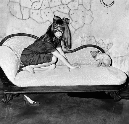 Roger Ballen, SELMA BLAIR AND SPHYNX, 2005