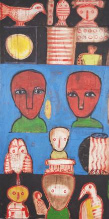 Toyin Loye, Play of Spirits, 2009