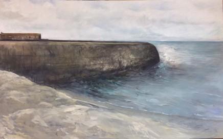 Dorothea Carr, The Cobb in Autumn Lyme Regis