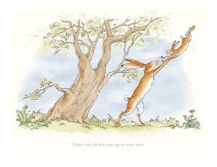 Anita Jeram, I love you all the way up to your toes