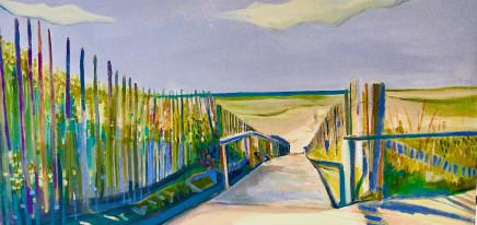 Lesley Munro, Path to Holkham Beach