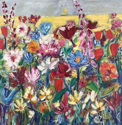 Penny Rees, Seaside Garden, 2021