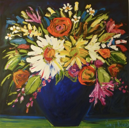 Penny Rees, Deep Blue Vase