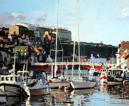 Colin Cook, Autumn afternoon at Whitby