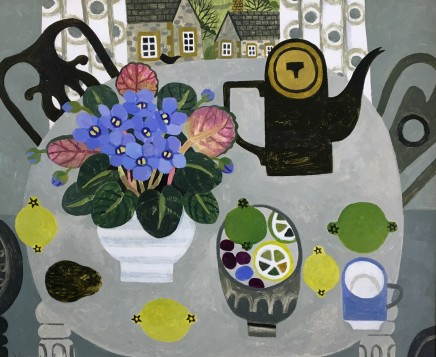 Vanessa Bowman, African Violets