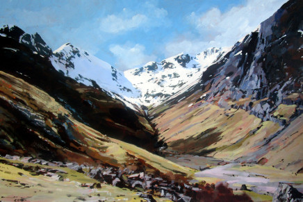 Colin Cook, Lost Valley (Coire Gabhail), Glen Coe