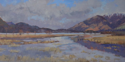 Jennifer Greenland, Derwent Water towards Skiddaw, 2020