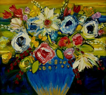 Penny Rees, Gilded Vase