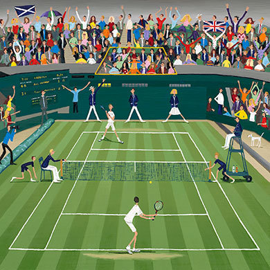 Louise Braithwaite, Centre Court