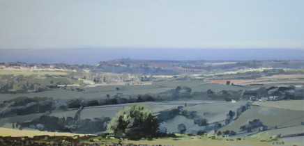 Colin Cook, Whitby from Sleights Beacon