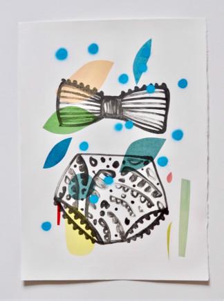 Annie Sandano, Summer Bathers (Sky Blue)