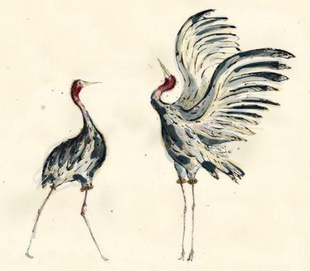 Anna Wright, The Cranes