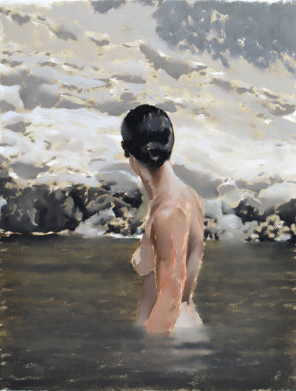 Andrew B Holmes, Untitled (standing bather), 2017
