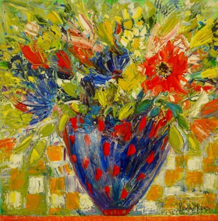 Penny Rees, Red Spotty Vase