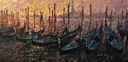 Lana Okiro, Gondolas, Venice