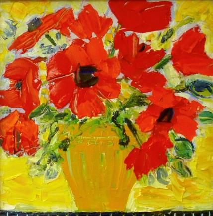 Penny Rees, Striped Yellow Vase