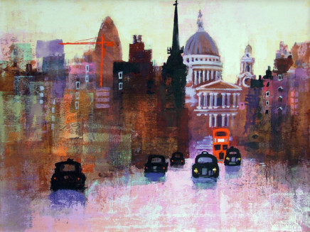 St Paul's and Taxis. A3+