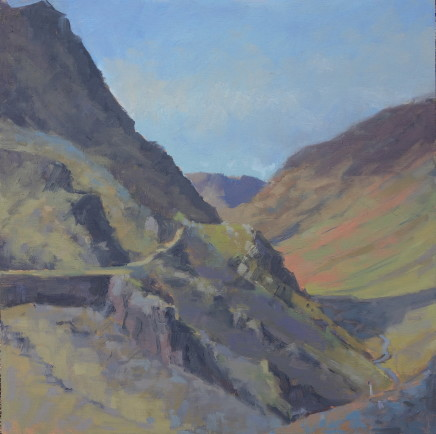 Jennifer Greenland, Fleetwith Shadows into Honister , 2020