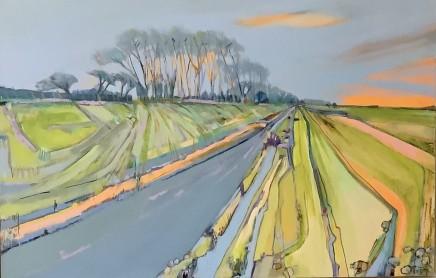 Lesley Munro, Dyke at Deepdale Marsh