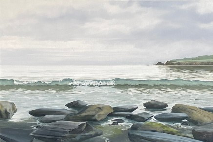Dawn Reader, Sea Green Ribbon