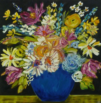 Penny Rees, Royal Blue Vase