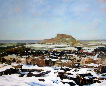 Colin Cook, Roseberry Topping - early winter