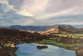 Colin Cook, Light breaking over Helm Crag and Grasmere