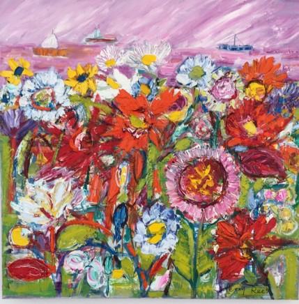 Penny Rees, Estuary Garden, 2021