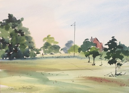 Kevin Williams, May on Wimbledon Common, Kings College School