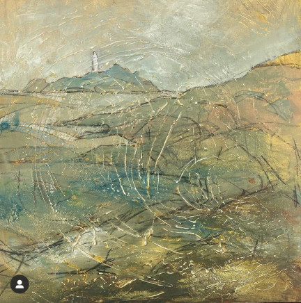 Angela Annesley, Lighthouse Dawn, Godrevey