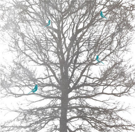 Anne Gournay, Cache-Cache II (Are there really green parakeets in Hampstead Heath?)