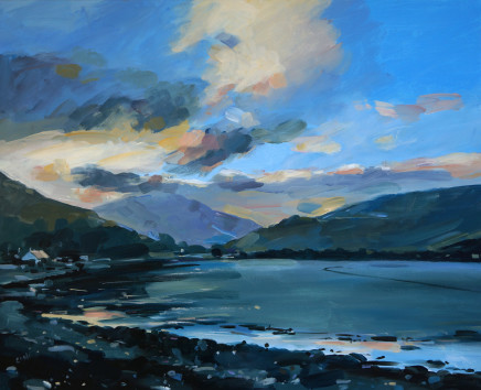Colin Cook, The bay at Lochranza Arran