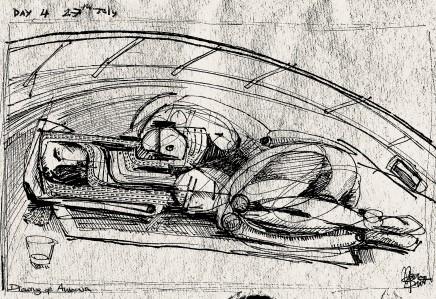 Maxim Burnett, Drawing of Antonia
