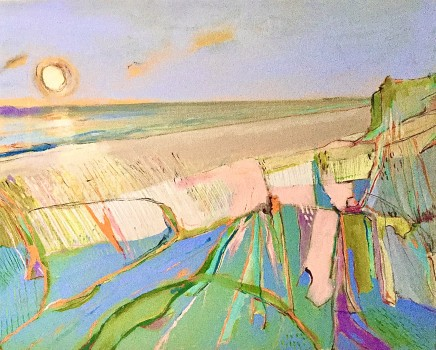 Lesley Munro, End of the Day, Holkham Beach