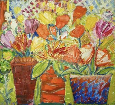 Penny Rees, Garden Pots