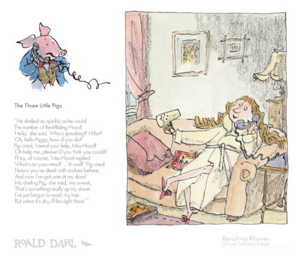 Quentin Blake/Roald Dahl, The Three Little Pigs