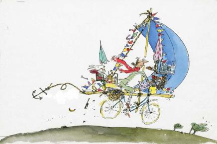 Quentin Blake/Roald Dahl, LOW STOCK - Mrs Armitage