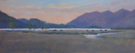 Jennifer Greenland, Derwent Water, Sunset , 2020