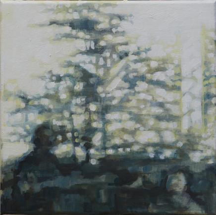 Hannah Davies, Garden Cafe Study , 2020