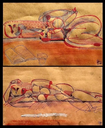 Maxim Burnett, Drawings for Helia