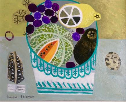 Vanessa Bowman, Fruit Bowl with Quails Egg